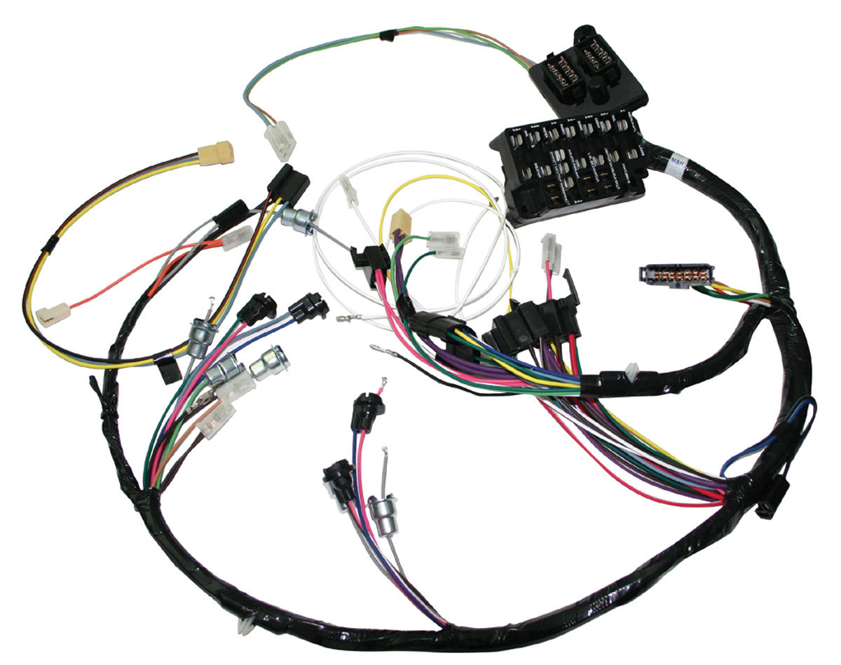 1966 Gto Dash Wiring Harness - Wiring Diagram Online