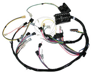 1966-1966 GTO Dash Harness Console Shift and Automatic Transmissions w/Gauges, by M&H