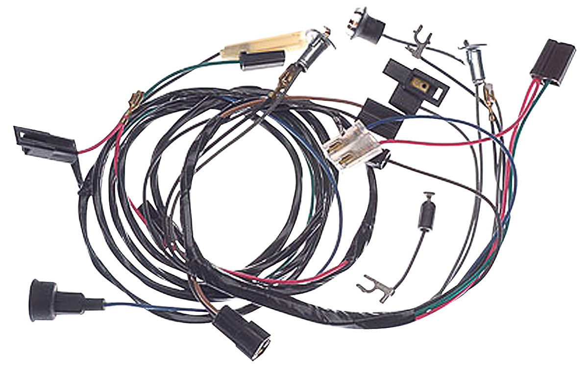 m h 1965 gto rally gauge adapter harness 6 cyl. Black Bedroom Furniture Sets. Home Design Ideas