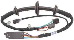 1965 Power Window Harness Driver Side Door Exc. 2-Door Wagon & El Camino Left, by M&H