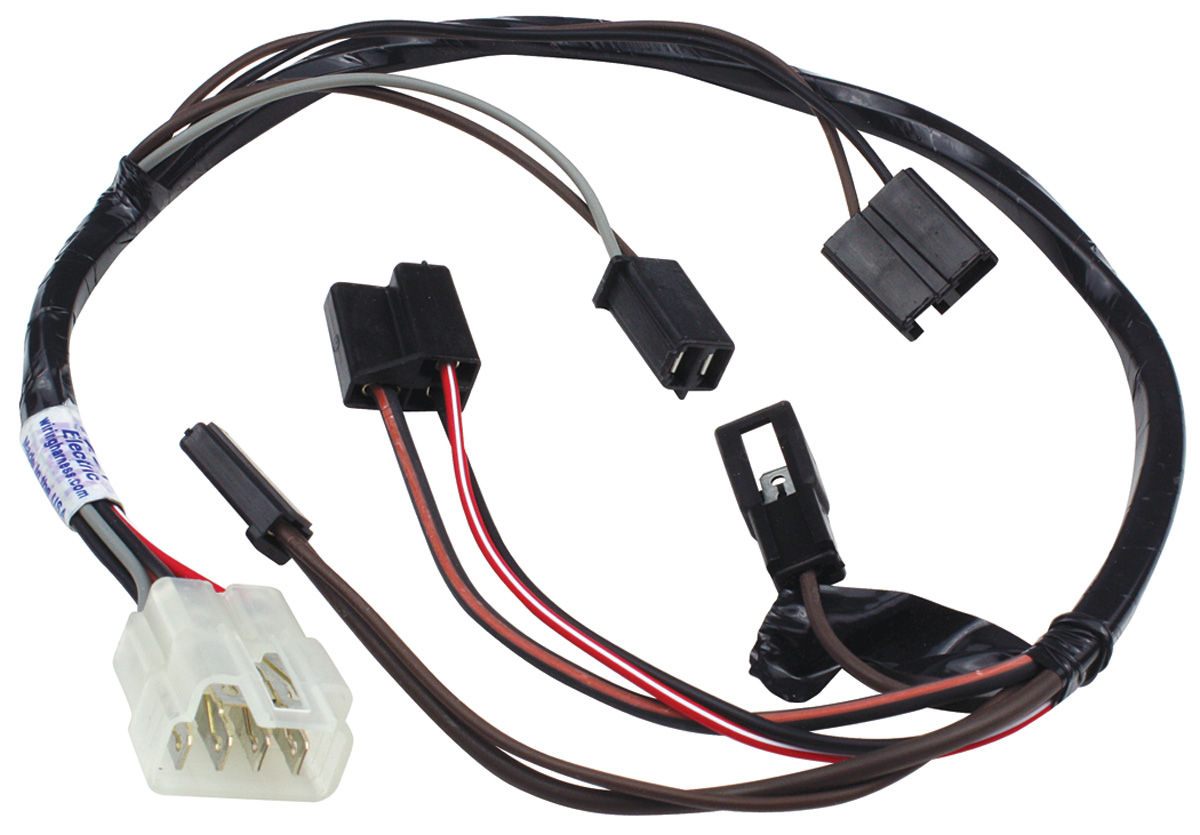 m&h 1970 gto air conditioning extension harness blower ... gto wiring harness