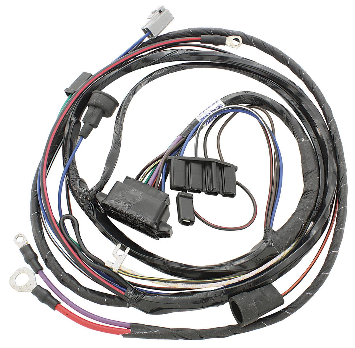 Light Switch Wiring Diagram 68 Gto: M&H 1967 GTO Engine Harness V8 W/Ram Air @ OPGI.com