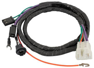 1968-1968 GTO Console Wiring Harness 4-Spd., by M&H