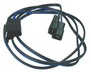 1968 Bonneville Back-Up Light Extension Harness Dash Harness Side