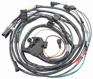 1969-1969 GTO Engine Harness 6-Cylinder w/AC, by M&H