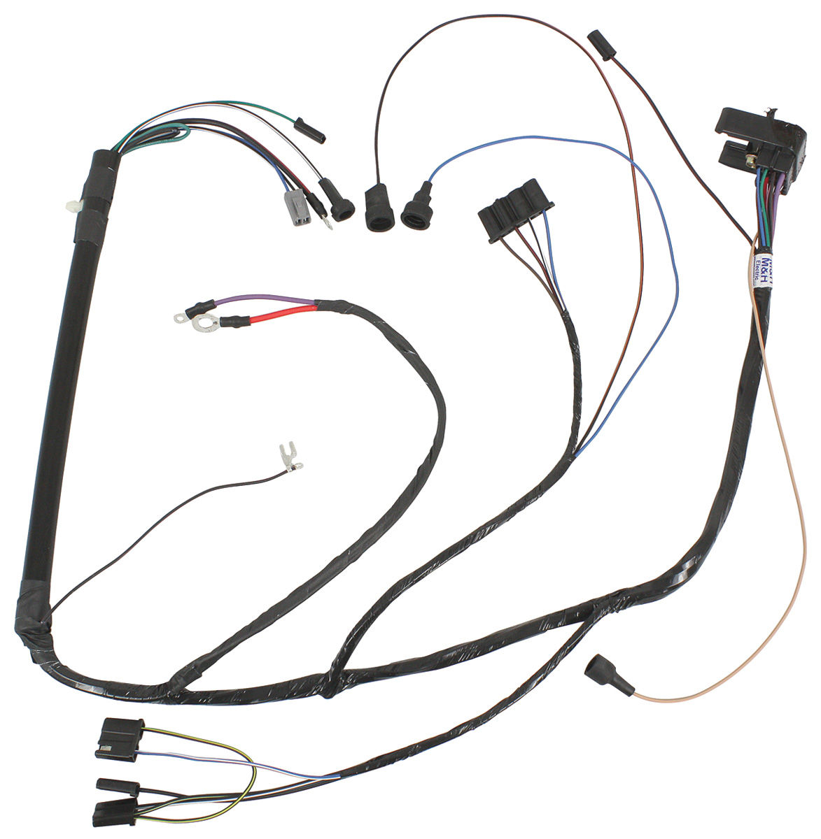 M&H GTO Engine Harness V8 Fits 1969 GTO @ OPGI.com