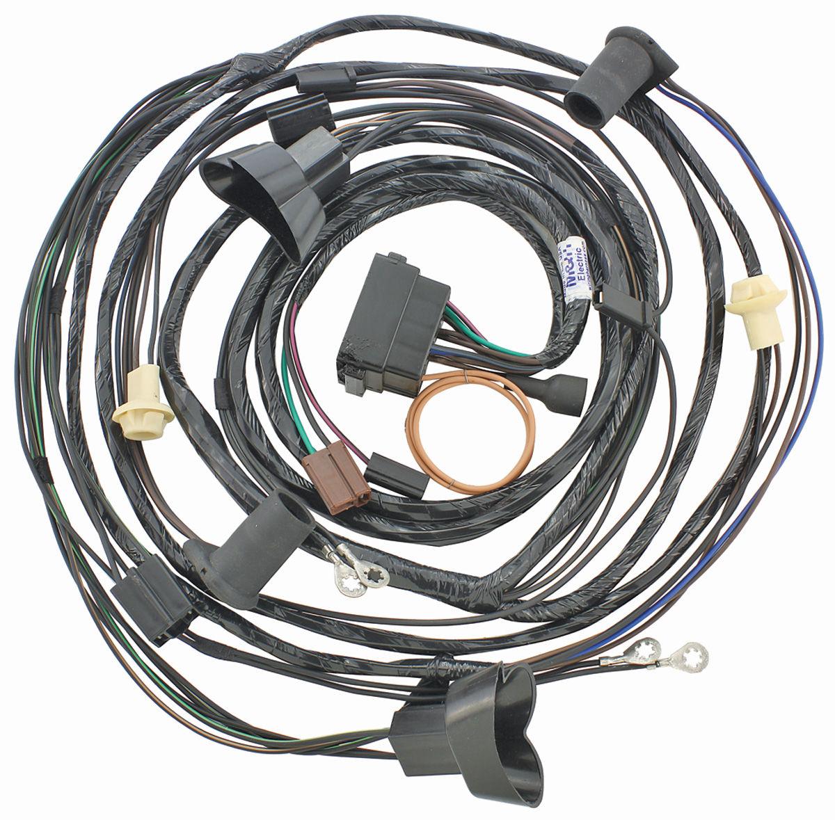 1970 gto wiring harness m&h 1970 forward lamp harness gto @ opgi.com #8