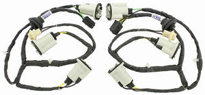 1970-1972 GTO Rear Light Harness w/o Light Monitor (Set of 2), by M&H