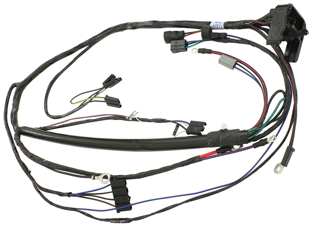 m h gto engine harness v8 auto fits 1970 gto. Black Bedroom Furniture Sets. Home Design Ideas