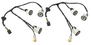 1965-1965 GTO Rear Light Harness All Models, Convertible, by M&H