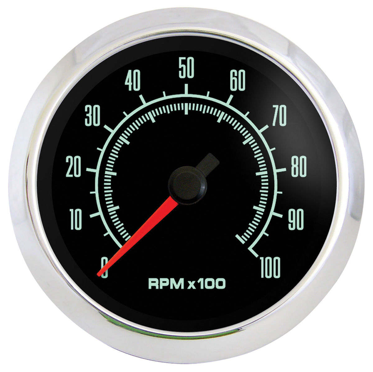 "Photo of Gauge, Retro Muscle 3-3/8""tachometer (10,000 rpm) - Corvair"
