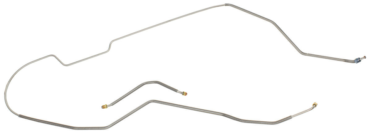 Fine Lines Monte Carlo Brake Line, Front-To-Rear (2-Piece