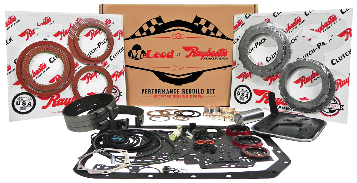 Photo of Rebuild Kit, Performance, McLeod Racing (1962-73 Powerglide)
