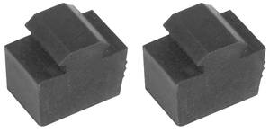 1969-1972 Grand Prix Clutch/Brake Pedal Rubber Stoppers (Grand Prix), by SoffSeal