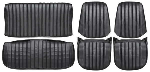 Photo of Seat Upholstery, 1971-72 (Front Buckets & Rear Seat)