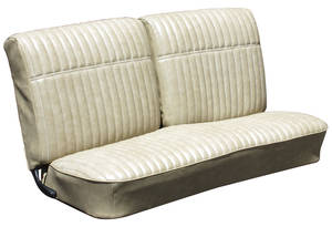 Monte Carlo Seat Upholstery, 1970 (Front Buckets & Rear Seat)