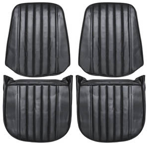 Monte Carlo Seat Upholstery, 1971-72 (Front Buckets)