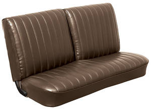 Monte Carlo Seat Upholstery, 1971-72 (Front Split Bench)