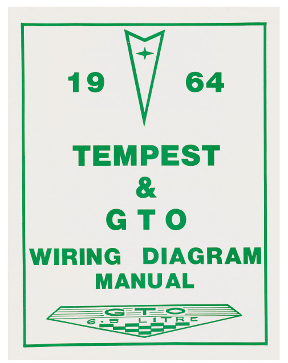 Wiring Diagram Manuals Fits 1964 Gto   Opgi Com