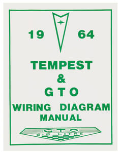 1964-1964 Tempest Wiring Diagram Manuals
