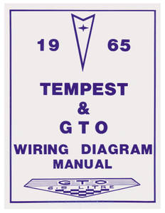 1965-1965 Tempest Wiring Diagram Manuals