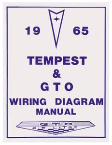 1965-1965 GTO Wiring Diagram Manuals