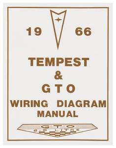 1966-1966 LeMans Wiring Diagram Manuals