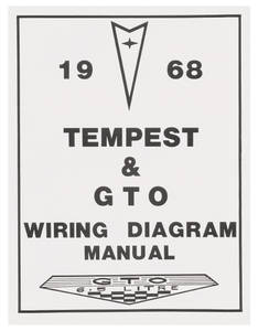 1968-1968 GTO Wiring Diagram Manuals