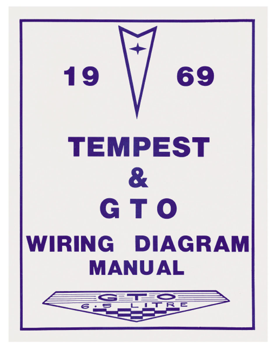 Wiring       Diagram    Manuals Fits 1969 GTO   OPGI
