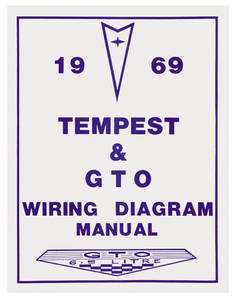 1969-1969 LeMans Wiring Diagram Manuals