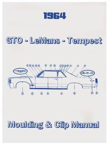 1964 GTO Pontiac Molding & Clip Manuals