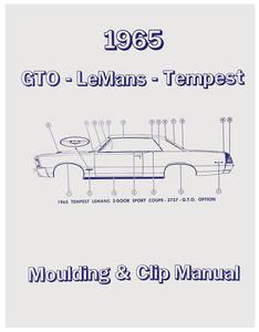 1965 Tempest Pontiac Molding & Clip Manuals