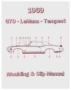 1969-1969 Tempest Pontiac Molding & Clip Manuals