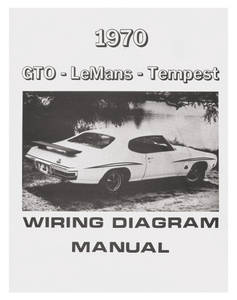 1970 GTO Wiring Diagram Manuals