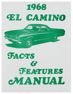 1968-1968 El Camino Illustrated Facts Manual El Camino