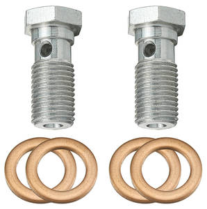 "Brake Line Hose Bolts 7/16""-24"