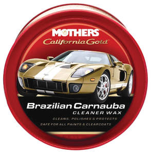 1959-77 Grand Prix California Gold Brazilian Carnauba Cleaner Wax Paste, 12-oz.