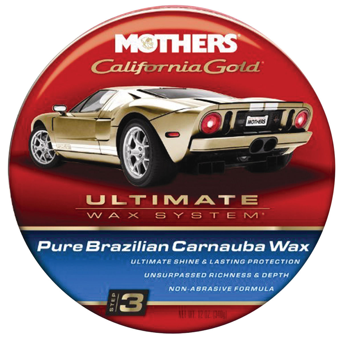 Photo of California Gold Pure Brazilian Carnauba Wax paste, 12-oz.