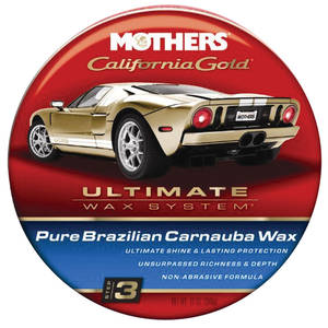 California Gold Pure Brazilian Carnauba Wax Paste, 12-oz., by Mothers