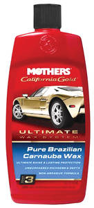 California Gold Pure Brazilian Carnauba Wax (Liquid, 16-oz.), by Mothers