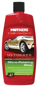 California Gold Micro-Polishing Glaze 16-oz., by Mothers