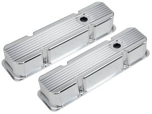 1978-1988 El Camino Valve Covers, Finned, Fabricated Small Block