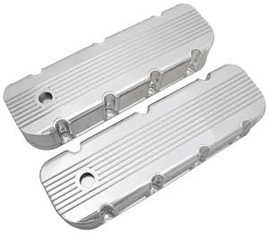 1978-88 El Camino Valve Covers, Finned, Fabricated Big Block