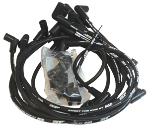 1978-1988 El Camino Spark Plug Wires, Street Fire Small-Block w/HEI Cap, by MSD