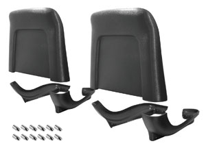 1966 El Camino Seatback Kits, Premium (Strato Bucket) Backs & Bases