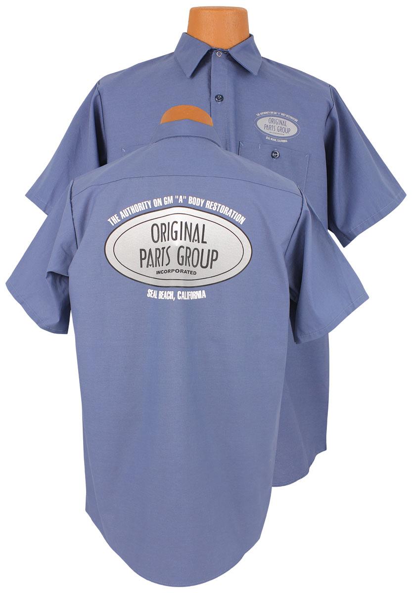 Photo of Original Parts Group Shop Shirt blue