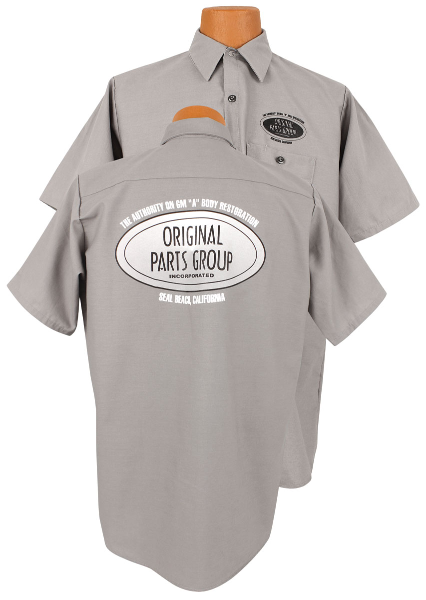 Photo of Original Parts Group Shop Shirt gray