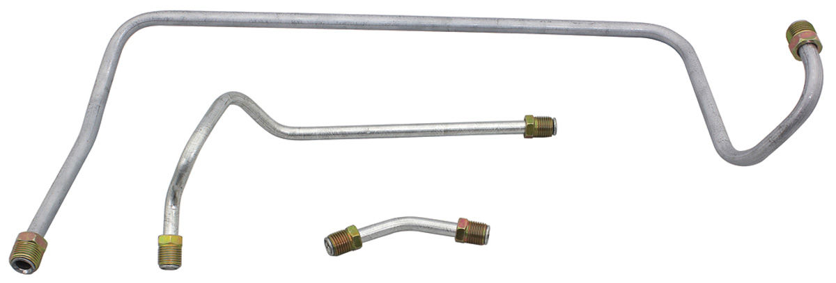 Fine Lines Chevelle Fuel Pump-To-Carburetor Line Set Big