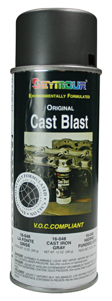 Photo of Gray Cast-Iron Aerosol Paint 12-oz.
