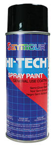 Dash and Console Black Aerosol Paint 12-oz.